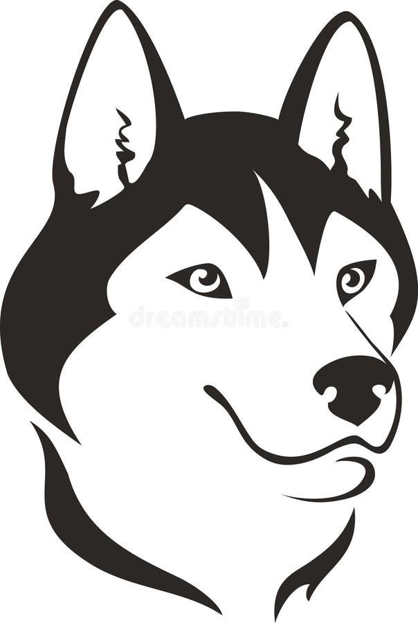 Perro fornido libre illustration