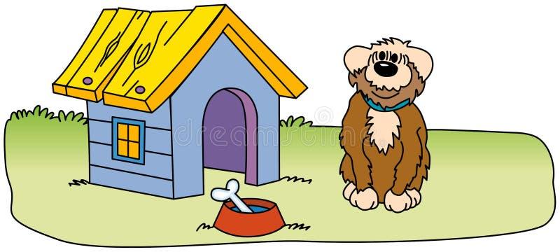 Perro guardián libre illustration