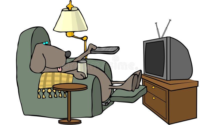 Perro teledirigido stock de ilustración