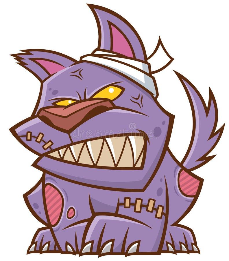 Perro zombie libre illustration