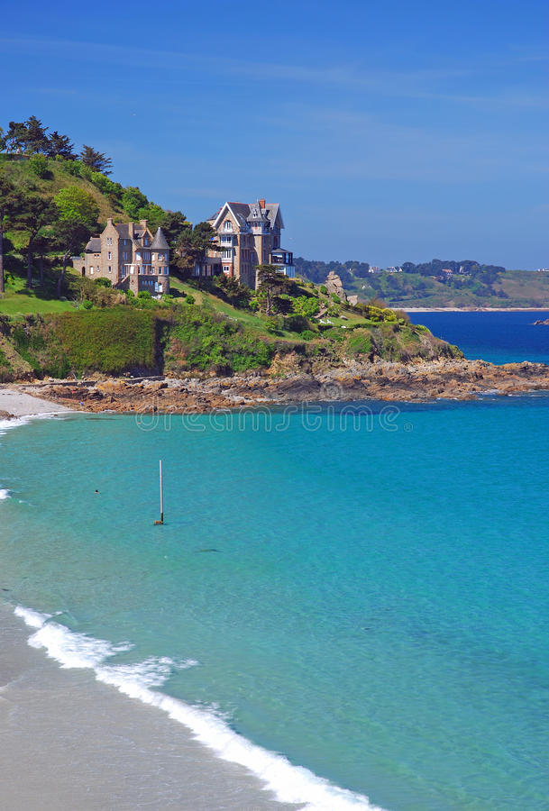 Download Perros-Guirec,Bretagne stock image. Image of perros, beach - 22467795