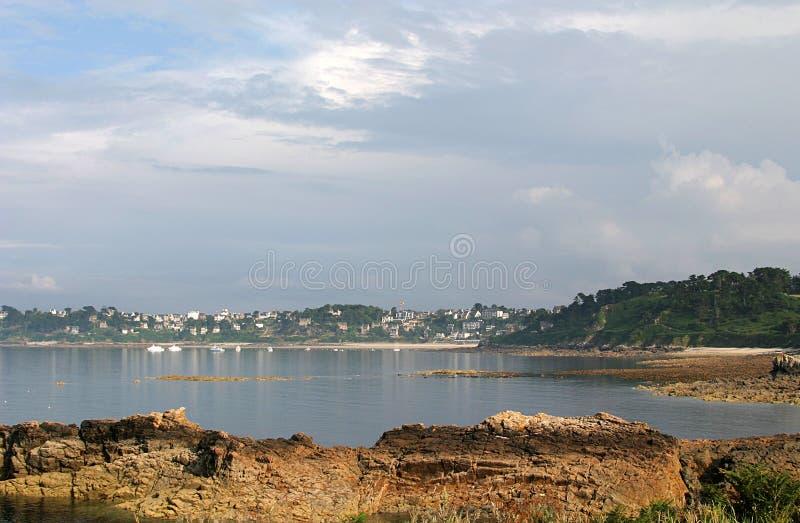 Perros-Guirec And The Pink Granite Coast In Bretagne Stock Photo