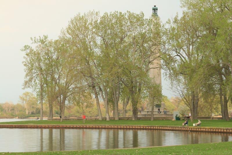 Perry Monument photographie stock libre de droits
