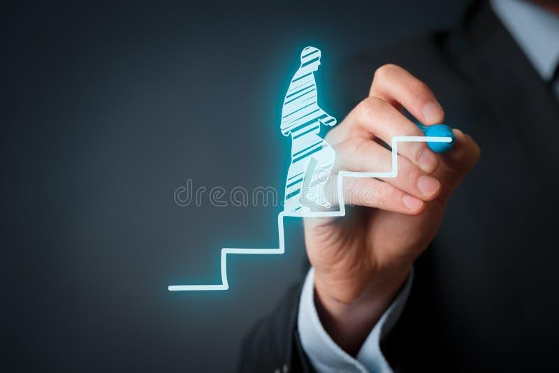 Persönliche Entwicklungskarriere lizenzfreies stockfoto