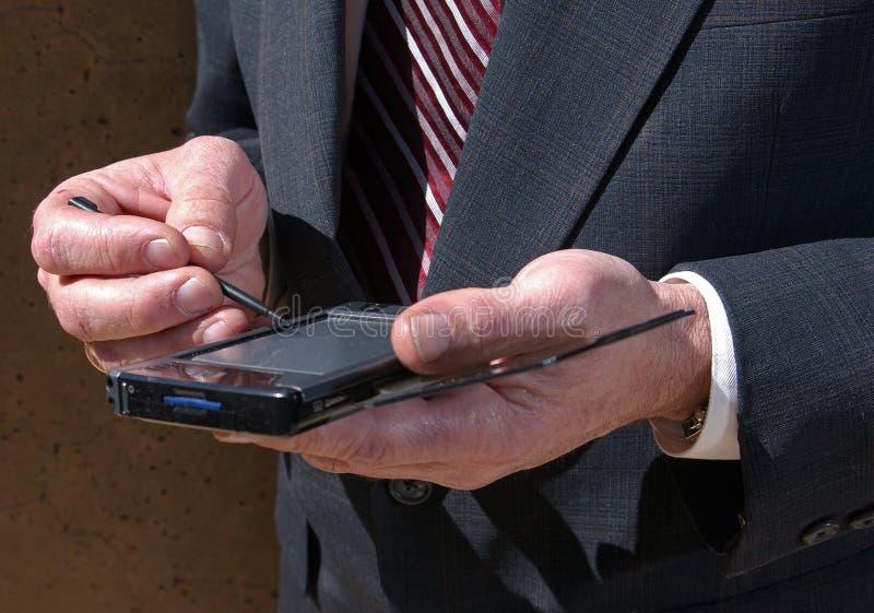 Persönlicher Assistent PDA stockbild