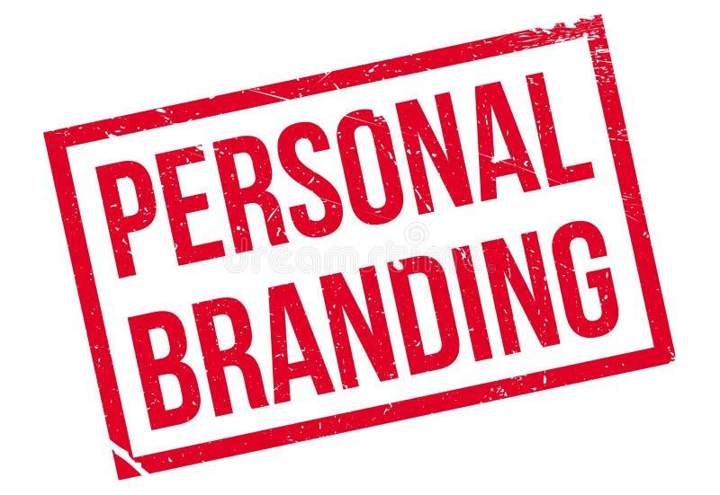 Persönlicher Brandingstempel lizenzfreie abbildung