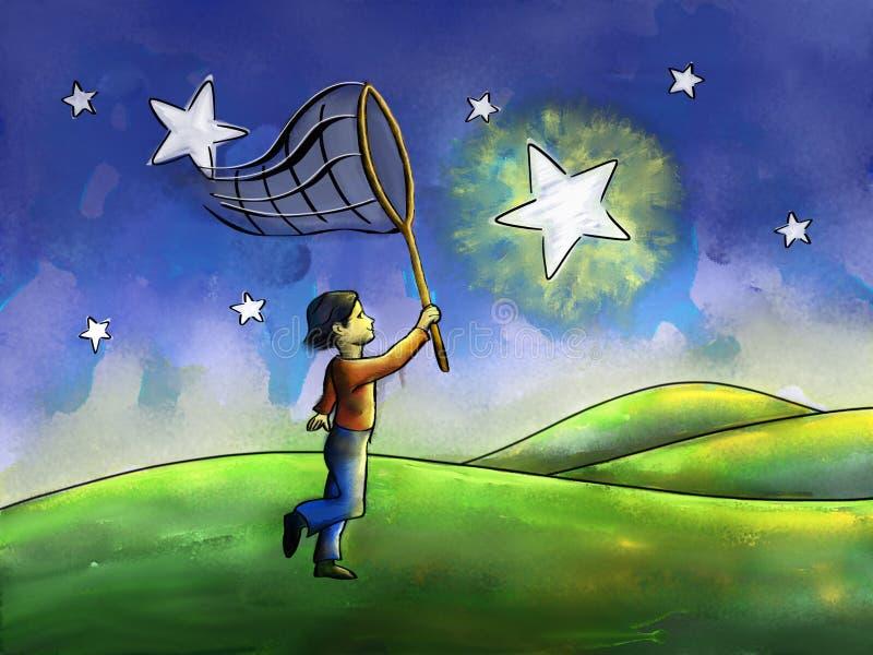 Persecución de las estrellas libre illustration
