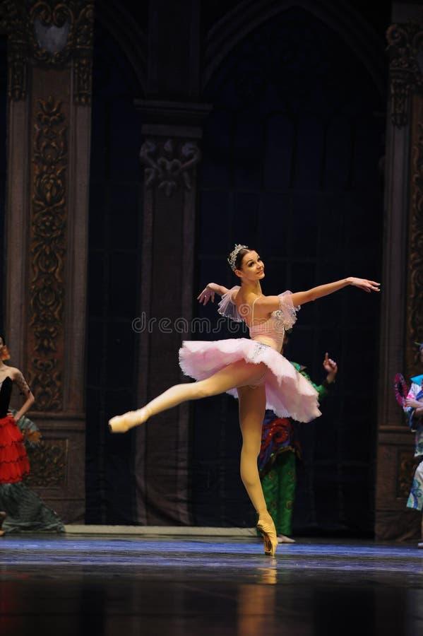 Persecución del cascanueces del ballet del sueño- imagenes de archivo