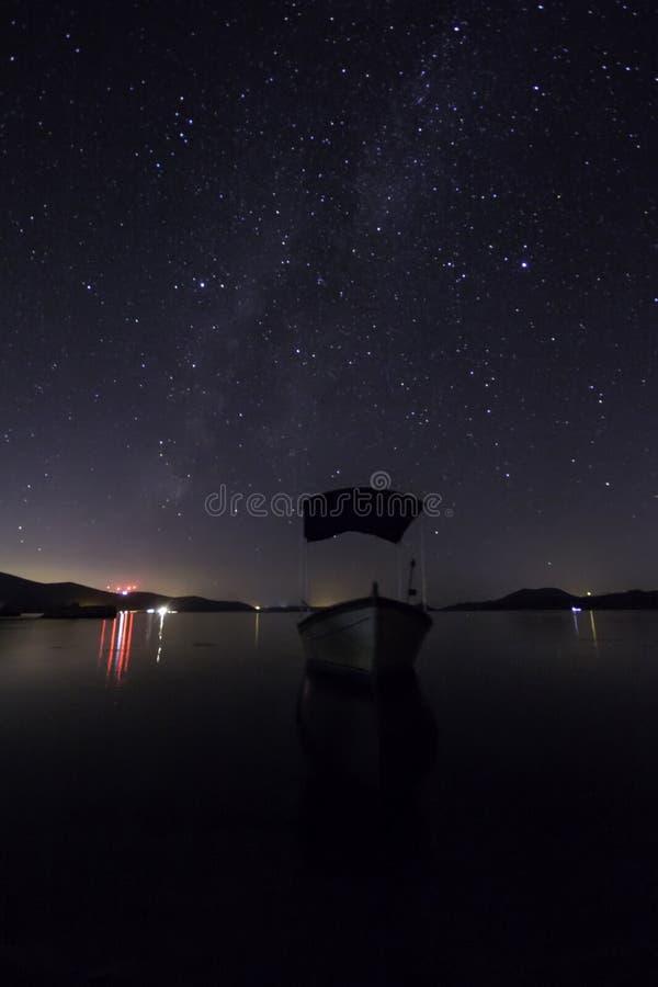 Perseid gwiazdy i zdjęcia stock
