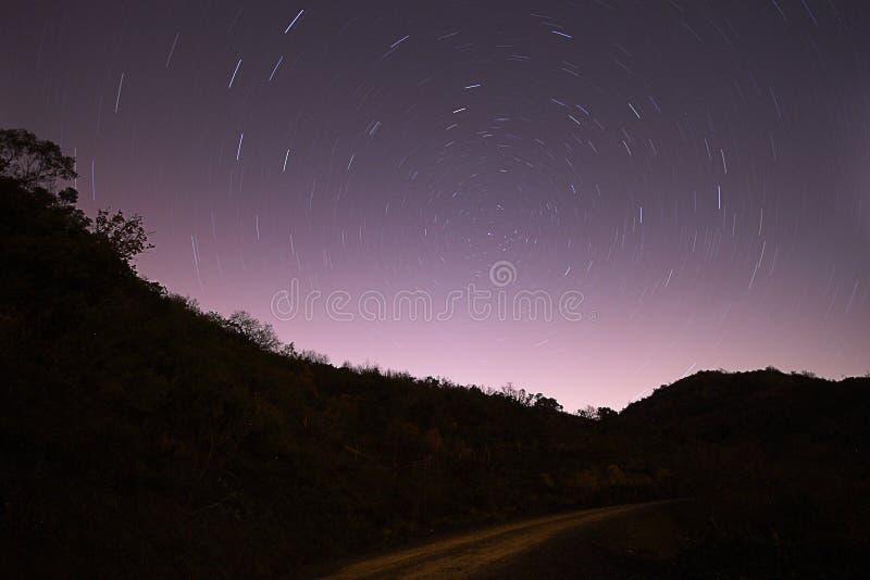 Perseid meteorowa prysznic obraz stock