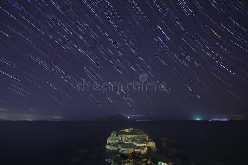 Perseid meteorowa prysznic zdjęcia stock