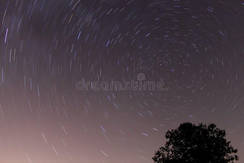 Perseid meteorowa prysznic obrazy royalty free