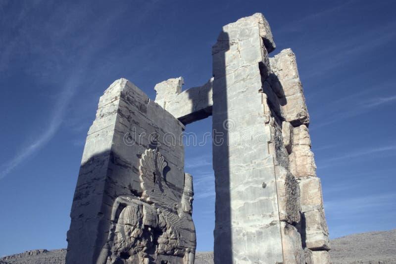 persepolis波斯 图库摄影