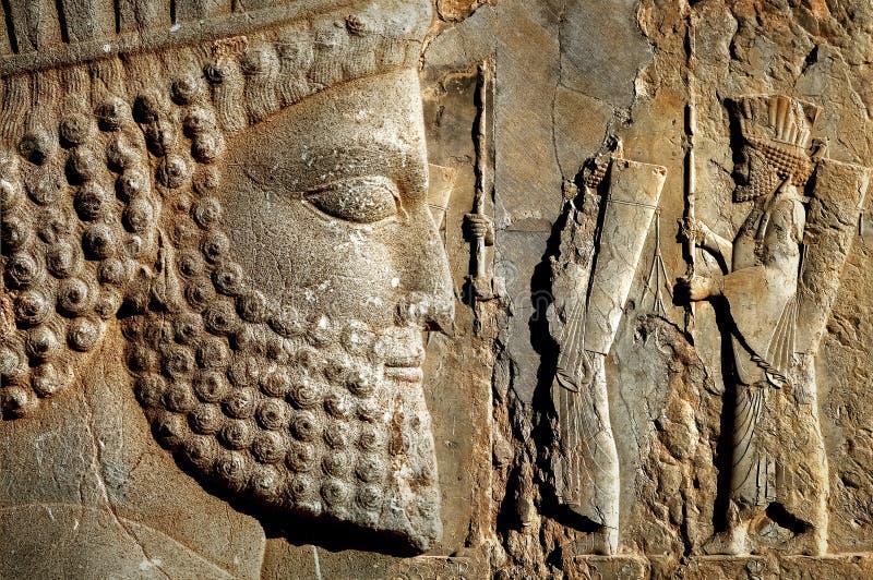 Persepolis è la capitale del regno antico dell'achemenide vista dell'Iran immagine stock