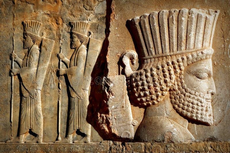 Persepolis é a capital do reino antigo do Achaemenid vista de Irã Pérsia antiga imagem de stock royalty free