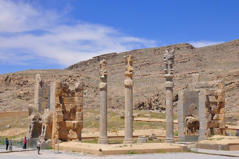 Persepolis Иран стоковые фотографии rf