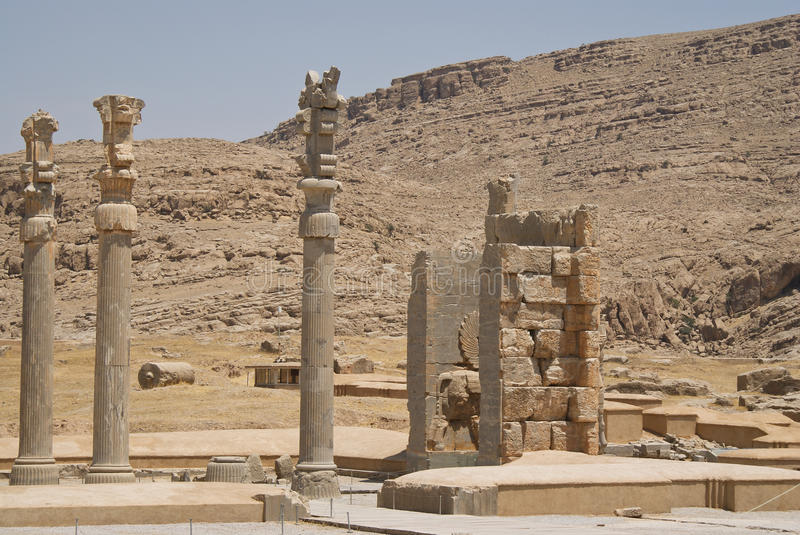 Download Persepolis stock image. Image of ancient, rocks, city - 26253217