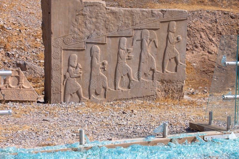 persepolis royaltyfri bild