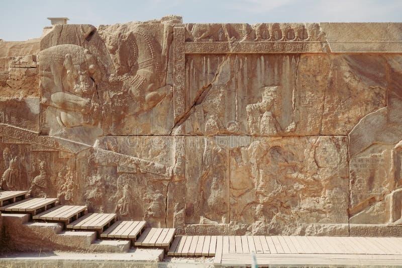 Persepolis antico Marvdasht, provincia di Fars, Iran immagini stock libere da diritti