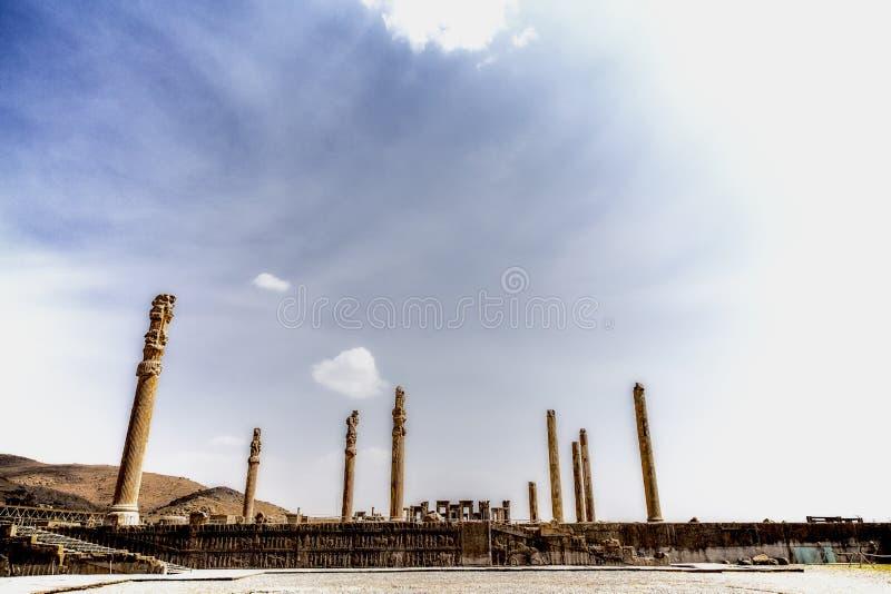 Persepolis, antyczny miasto Persia zdjęcia stock