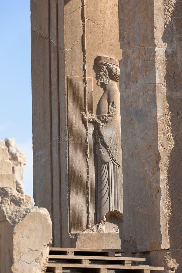 Persepolis, archeologische plaats, Perzië stock foto
