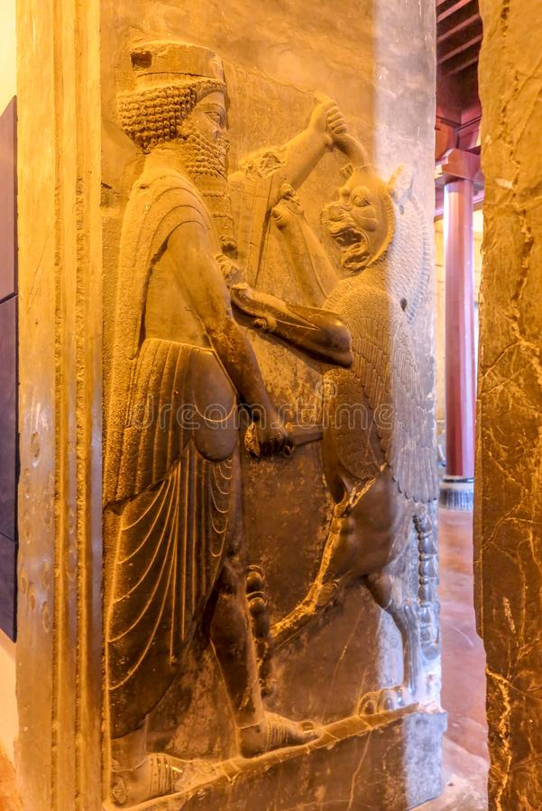 Persepolis Dziejowy miejsce 22 obraz royalty free