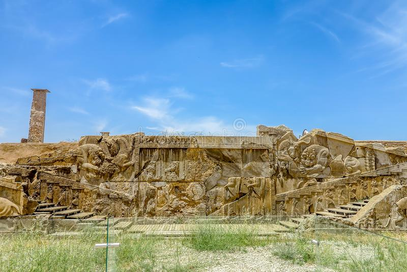 Persepolis Dziejowy miejsce 21 obrazy stock