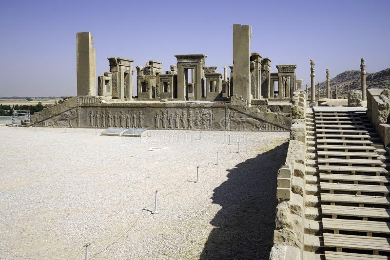 Persepolis en el norte de Shiraz, Irán fotos de archivo libres de regalías