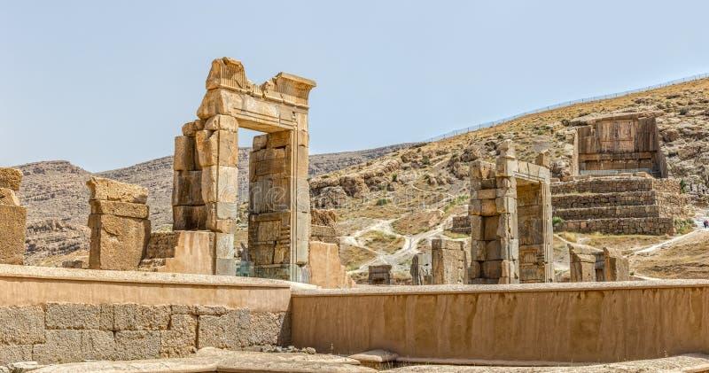 Persepolis fördärvar royaltyfri foto