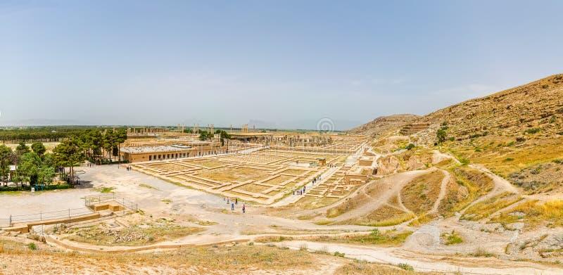 Persepolis fördärvar antennen arkivfoton