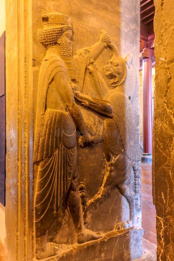 Persepolis historisk plats 22 royaltyfri bild