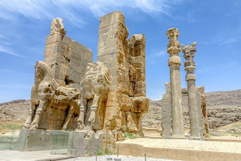 Persepolis historisk plats 30 royaltyfri foto