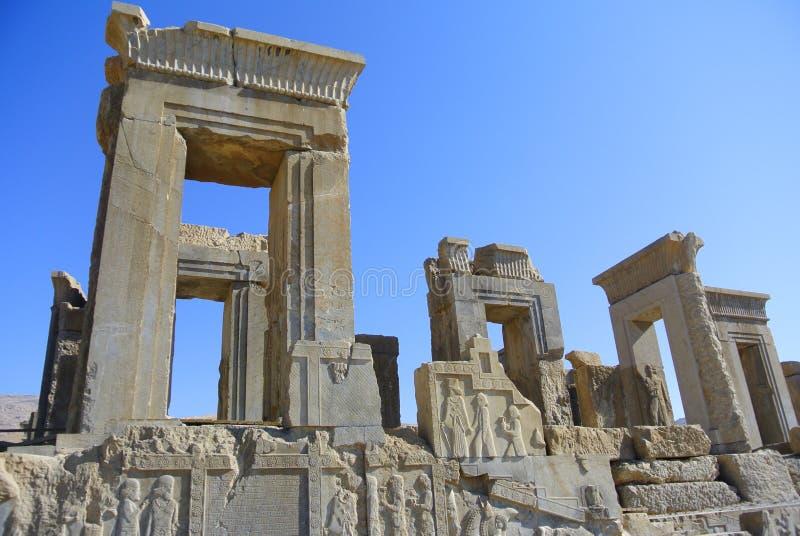 Persepolis Ir? Shiraz, portal imagem de stock royalty free
