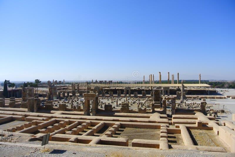 Persepolis Ir? Shiraz, portal imagens de stock royalty free