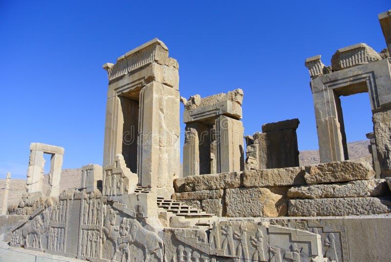 Persepolis Ir? Shiraz, portal foto de stock