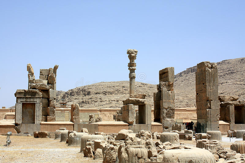 Persepolis Iran zdjęcie royalty free