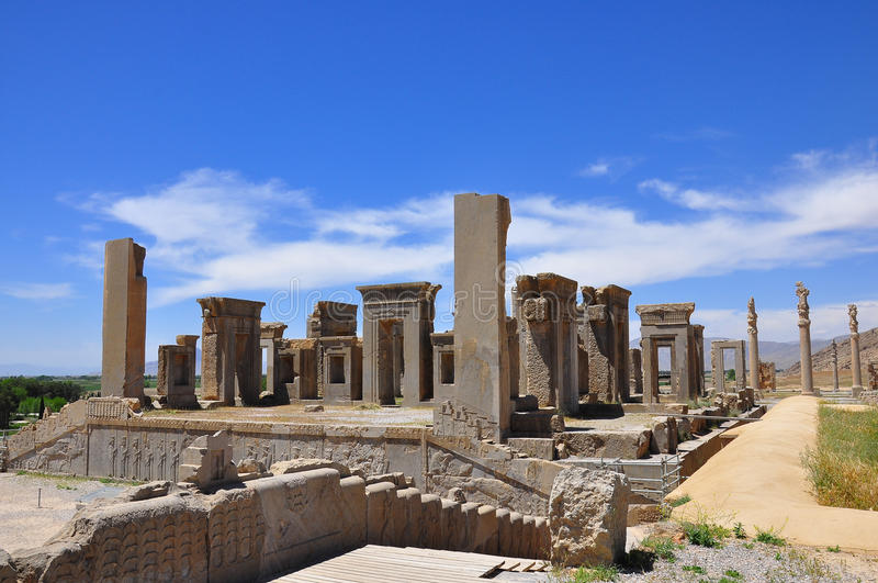 Persepolis Iran royaltyfria foton