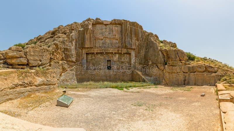 Persepolis koninklijke graven stock foto's