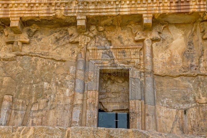 Persepolis kunglig gravvalvdörr arkivfoton