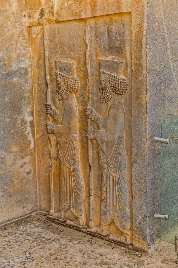 Persepolis kunglig gravvalvlättnad royaltyfri bild