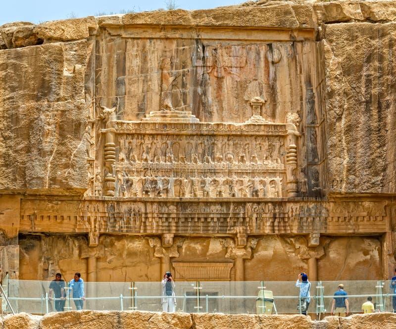 Persepolis kunglig persongravvalv arkivfoton