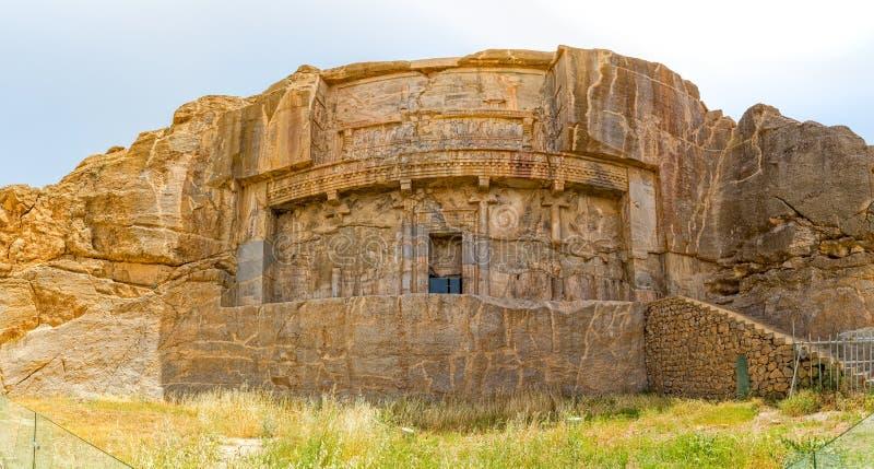 Persepolis kunglig persongravvalv royaltyfria foton