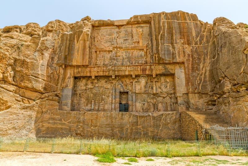 Persepolis kunglig persongravvalv arkivfoto