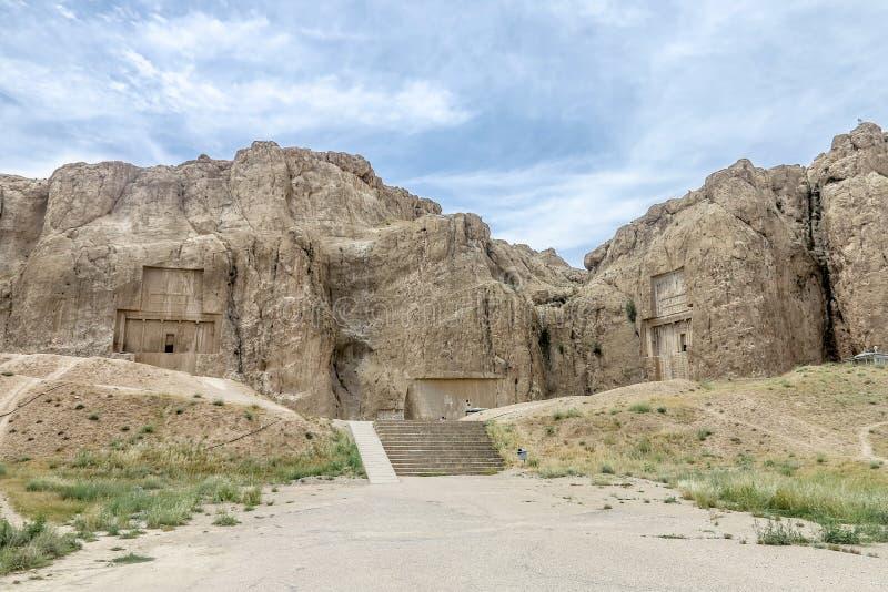 Persepolis Naqsh-e Rustam 01 royaltyfria bilder