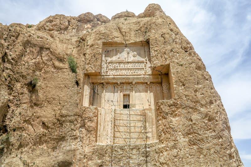 Persepolis Naqsh-e Rustam 03 arkivfoto