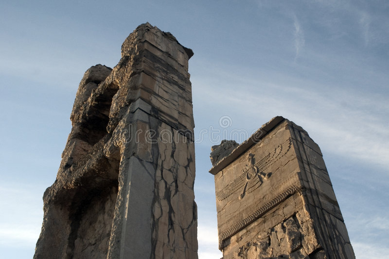 Persepolis, Persien lizenzfreies stockbild