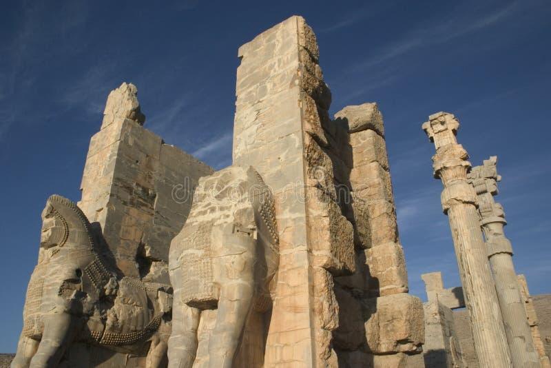 persepolis Persji obraz royalty free
