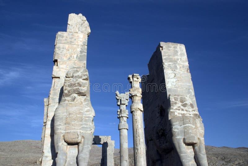 Persepolis, Perzië stock foto