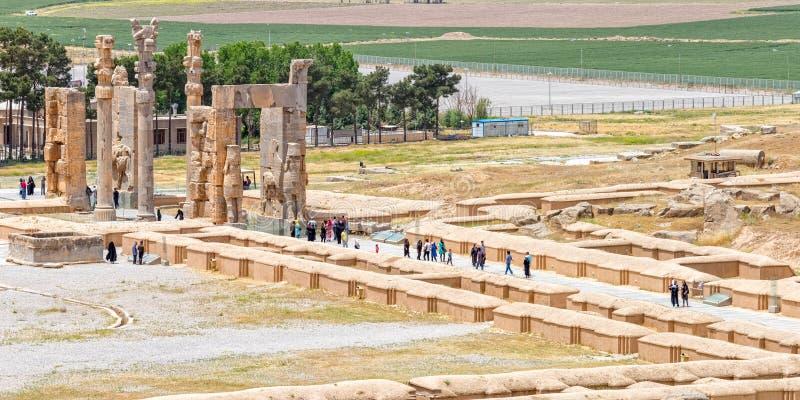Persepolis port av nationer royaltyfria bilder