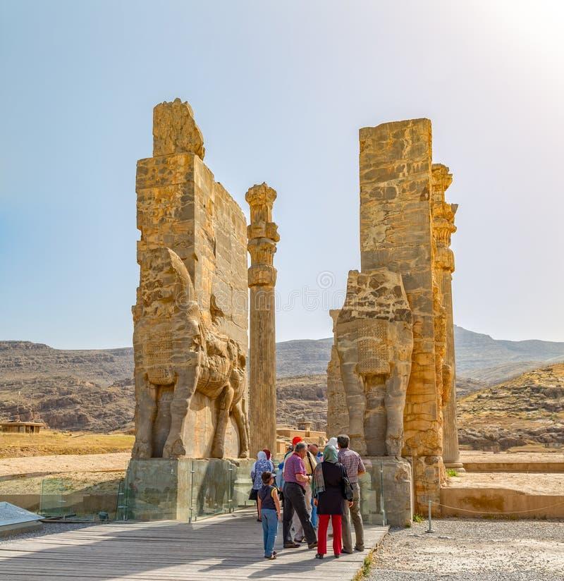 Persepolis port av nationer royaltyfria foton